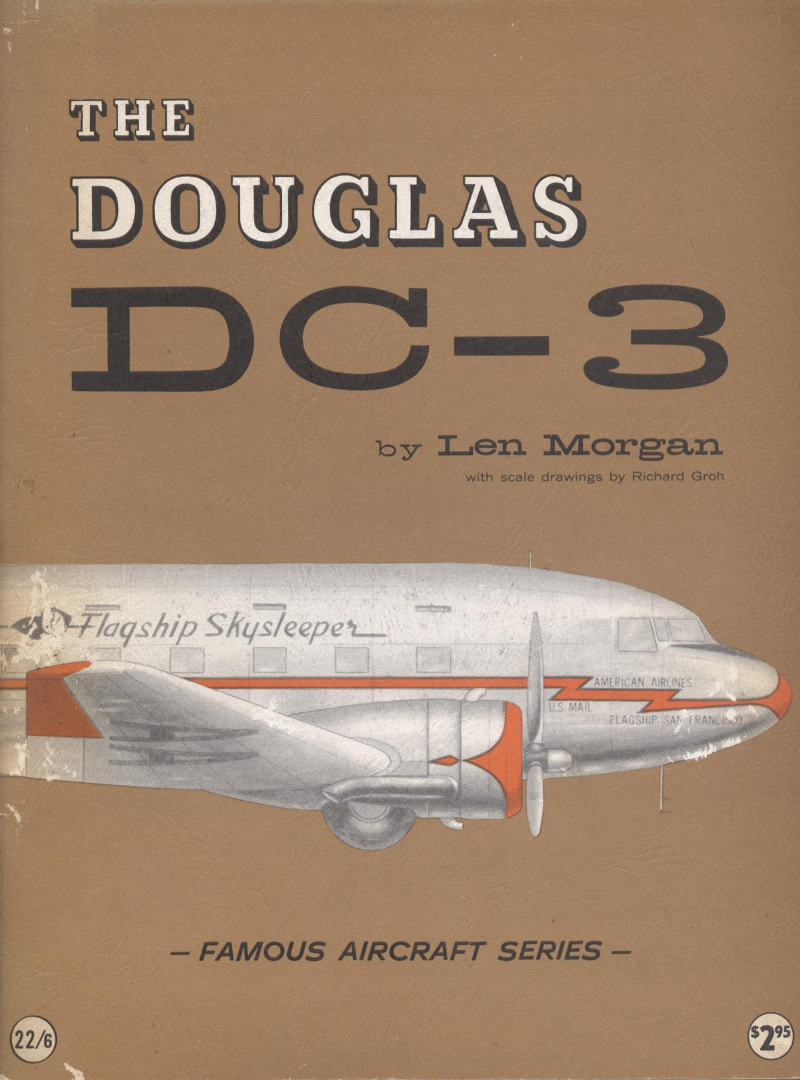 Book Famous aircraft series The Douglas DC-3 Len Morgan